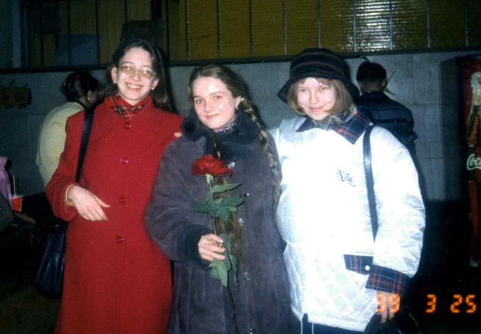 Екатерина Полякова, Екатерина Кислова, Дарья Анисимова