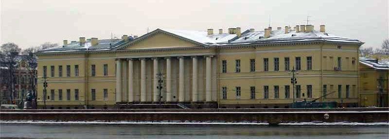 Здание Академии наук (1783–1789). Университетская наб., 5.