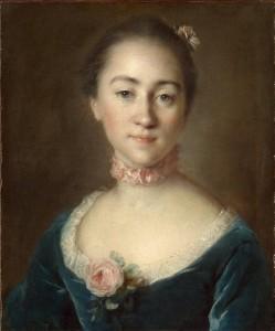 Луи Токке. Екатерина Головкина. 1757.