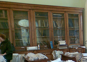 Шкафы с описями. Фото ЖЖ-юзера yrkja